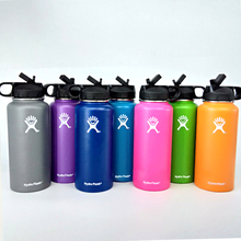 32oz/40oz Wide Mouth Flask Hydro Thermos Double Walled Vacuum Insulated Stainless Steel Thermal Water Bottle for Travel