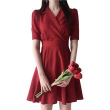 Летние женские платья винтажное праздничное платье трапеция