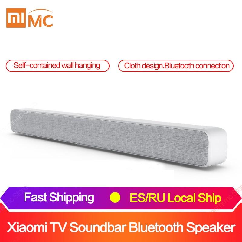 Оригинальный Xiaomi Bluetooth ТВ звуковая панель беспроводной динамик Саундбар поддержка оптический SPDIF AUX in для домашнего кинотеатра