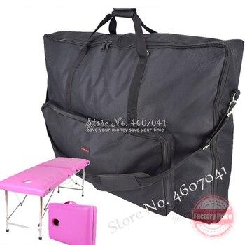 جديد للطي تحمل حقيبة ل سرير تدليك كرسي العناية بالجمال اكسسوارات قوي 600D أكسفورد القماش حقيبة الظهر مقاوم للماء 82*19*71 سنتيمتر