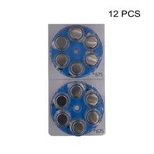 Hearing Aid Power Batteries PR44 1.4V Blue Tab Zinc Air Button Cell Battery e675 Replaces A675 675 675A DA675 P675 ZA675