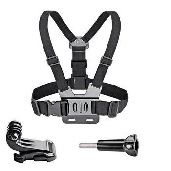Chest Strap mount belt for Gopro Hero 7/6/5 4K Action Camera Chest Mount Harness for GoPro for SJCAM SJ4000 Sport Cam Fix 4k lens 12mm 1 1 8 inch 34d m12 hfov 10mp lens for gopro hero 4 3 gitup 2 action camera sjcam sj4000 xiaomi yi 4k sport dv lens