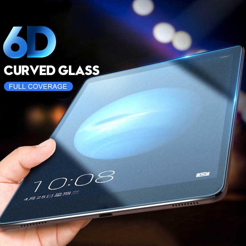 6D Cạnh Cong Bảo Vệ Màn Hình Trong Cho Huawei MediaPad M5 Lite 8.0 8.4 10 10.8 Wifi Kính Cường Lực Cho M5 10 pro BAH2-W09/L09/W19