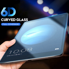 6D Curved Edge Screen Protector Tempered Glass For Samsung Galaxy Tab S S2 S3 S6 10.5 T800 T805 T810 T815 T820 T825 T830 T860 for samsung galaxy tab s3 9 7 t820 t825 tablet smart cover tab s3 t820 9 7 inch leather cover case protective stand skin fundas