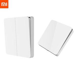 Image 1 - Xiaomi mijia básico interruptor de parede único/duplo/três aberto interruptor de controle duplo 2 modos interruptor para luzes da lâmpada interruptor