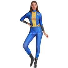 Deluxe fallout 4 vat косплей игра персонаж одеваются Хэллоуин