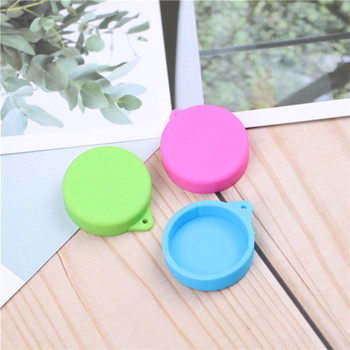 4pcs 2.5cm Lens Cover Cap Accessories Silicone Protective Lens Cap Cover for Gopro Hero 4 3+ Xiaomi Yi yi 4k Action Camera lens cover lens cap for xiaomi yi sport camera