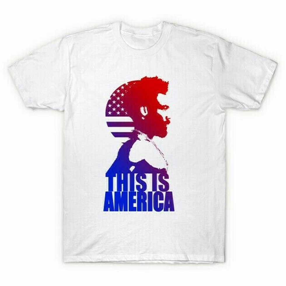 Childish Gambino This Is America Grammy Song Of The Year - T-Shirt Apparel Casual  Tee Shirt image
