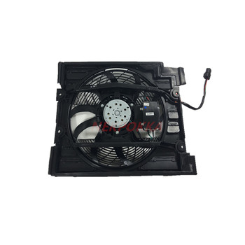Cooling fan for BMW 520i 523i 525i 528 530 E39,Condenser electronic fan,water tank fan for BMW E39 520i 523i 525i image