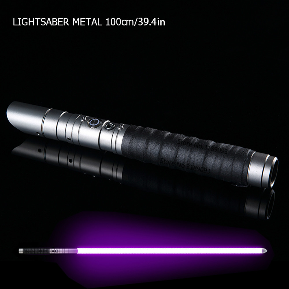 Noir guerres sabre Laser métal épée Espadaes Laser 2019 Cosplay garçon jouet clignotant enfants lumière en plein air jouets créatifs