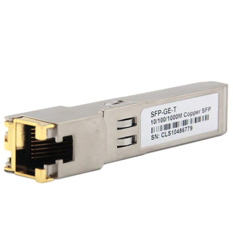 SFP Module <font><b>RJ45</b></font> <font><b>Switch</b></font> Gbic 10/100/<font><b>1000</b></font> Connector SFP Copper <font><b>RJ45</b></font> SFP Module Gigabit Ethernet Port image