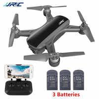 Jjrc x9 heron 5g wifi fpv com 1080 p câmera de fluxo óptico posicionamento altitude hold siga rc zangão gps quadcopter rtf