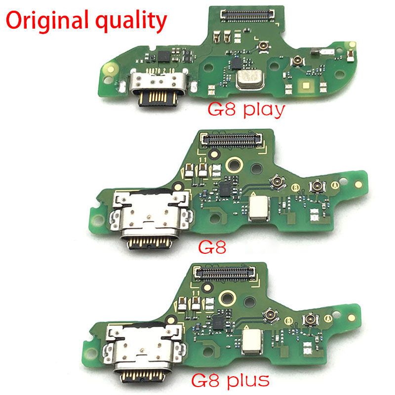 USB Port Charger Dock Plug Connector Charging Board FLex Cable For Motorola Moto G8 / G8 Play / G8 Plus  Replacement