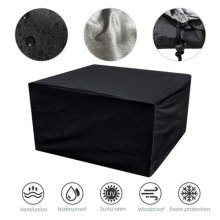 210D Furniture Covers Dustproof For Rattan Table Cube Chair Sofa Waterproof Garden Cover Outdoor Patio Sun Snow Protective Case