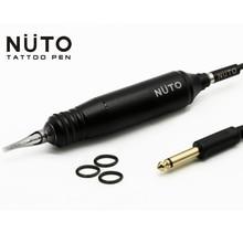 NUTO Магнитная Татуировка Mahine ручка/пистолет с 100 шт Магнитный картридж татуировки бесплатный магнитный