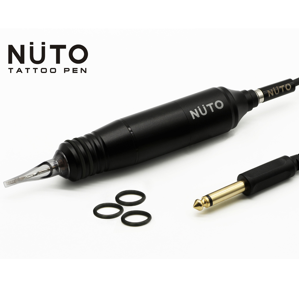 FREE SHIPPING NUTO Magnetic Tattoo Mahine Pen/GUN With 100pcs Magnetic Tattoo Cartridge Free Magnetic