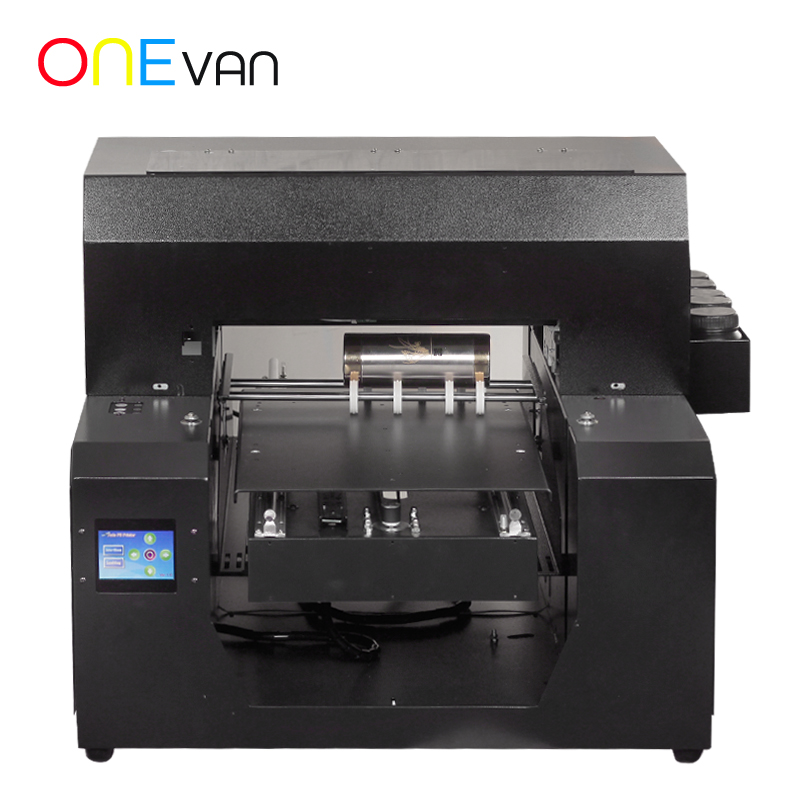A3 Format Uv Inkjet Printer 6 Colors With 3D Emboss Effect For Plastic/metal/wooden/tpu/acylic