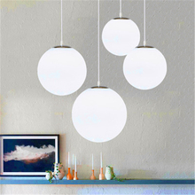 Nordic LED Glass Pendant Lights Lighting Lamps Kitchen Fixtures Hanglamps Living Room Hanging Suspension Luminaire