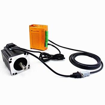 цена на 1PCS Nema 34 DC 30-100V closed loop Stepping Motor Drive Control Board LCDA86H 86mm CNC kit for 2 phase Controller Motor driver