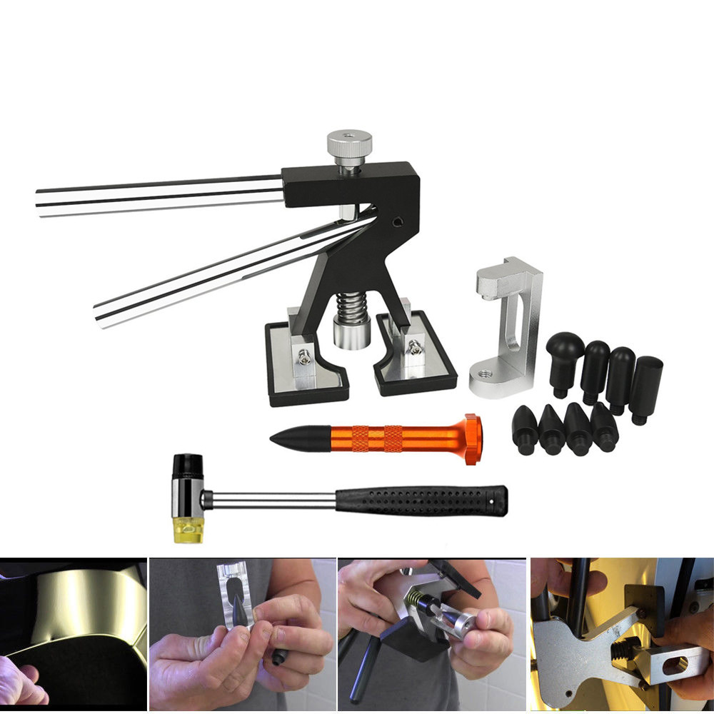 PDR Kit Autol Repair Tools Door Edge Dents Remover Car Fender Dent Repair Wheel Eyebrow Dent Repair Tools For Hail Damage