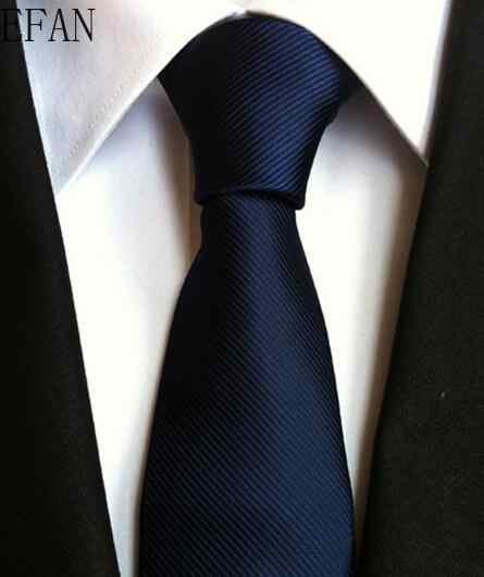 ファッションネクタイクラシックメンズストライプ黄紺結婚式ネクタイジャカード織シルク 100% 固体ネクタイ水玉ネクタイ
