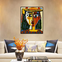 Canvas Pictures Home Decoration Abstract Pablo Picasso Painting Wall Art HD Print Nordic Creative Poster Modular For Living Room(China)