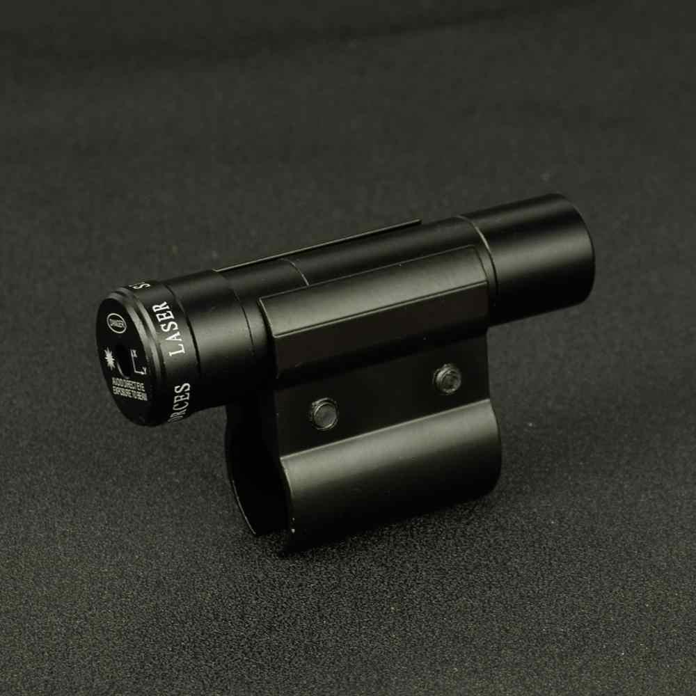 ยุทธวิธี Red Dot Laser Sight ขอบเขต Mount สำหรับ Picatinny Rail และปืนไรเฟิล Airsoft สำหรับเลนส์ล่าสัตว์ยิง