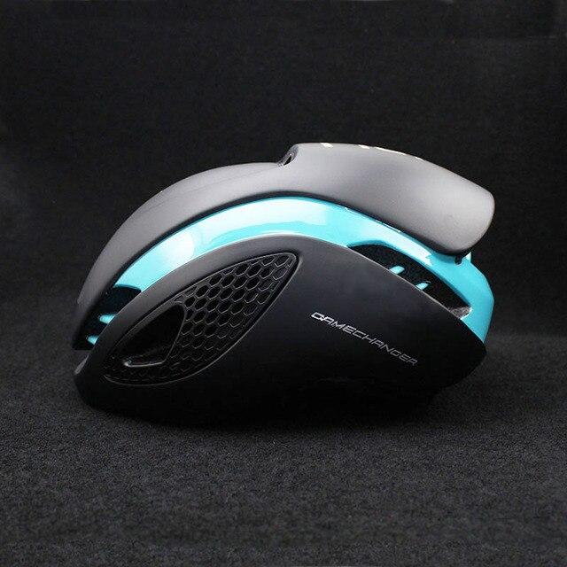 300g aero tt capacete de bicicleta de estrada ciclismo de bicicleta esportes capacete de segurança equitação dos homens de corrida em-molde tempo-julgamento capacete 4
