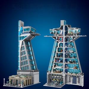 2020 new stock Avenger super 5883pcs Hero Tower building blocks creative ideal bricks education kids toys for adult boys gifts