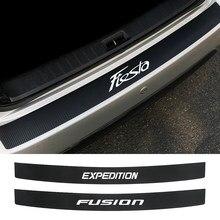 Coche parachoques trasero desgaste adhesivo para Ford C-MAX expedición Fiesta FIGO FLEX FUSION GALAXY GT KA PUMA RANGER Raptor S-MAX de tránsito