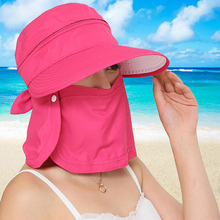 Cycling Cap Outdoor Running Riding Sunshade Sun Hats Foldable UV Protection Wide Brim Sun Hat Summer Hat
