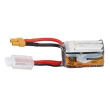 ZOP Power 11.1V 450mAh 85C 3S Lipo Battery XT30 Plug for Lizard95 FPV Racer RC Q