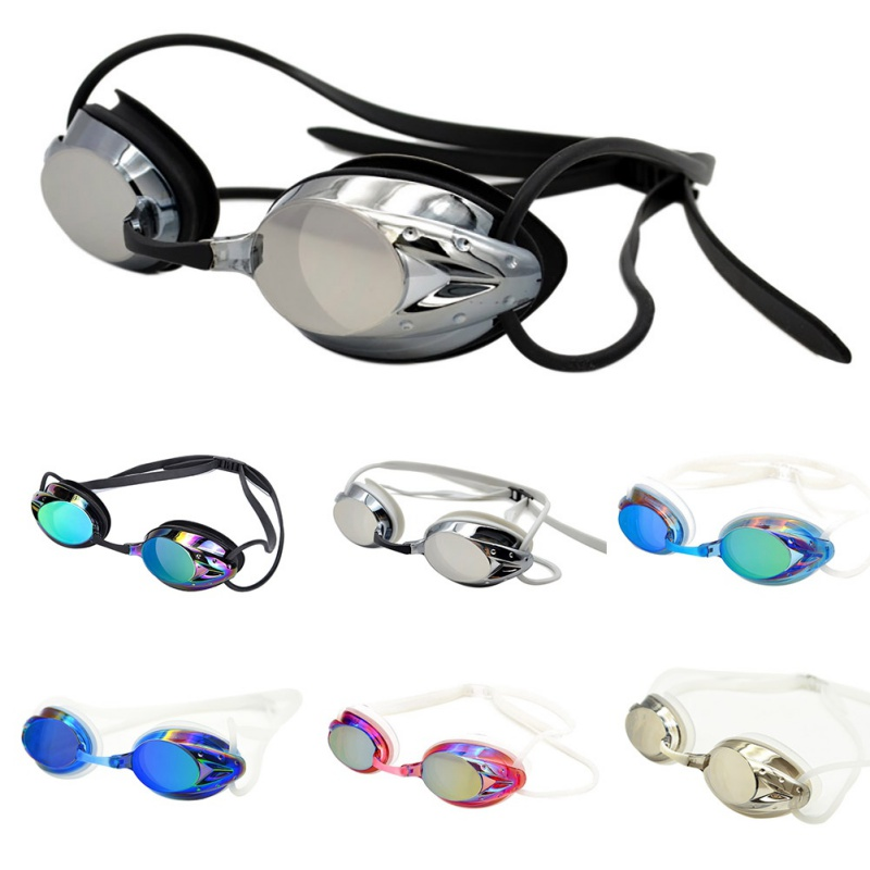 Adjustable Swimming Goggles New Men Women Professional Anti-Fog UV Eyewear Protection Waterproof silicone glasses