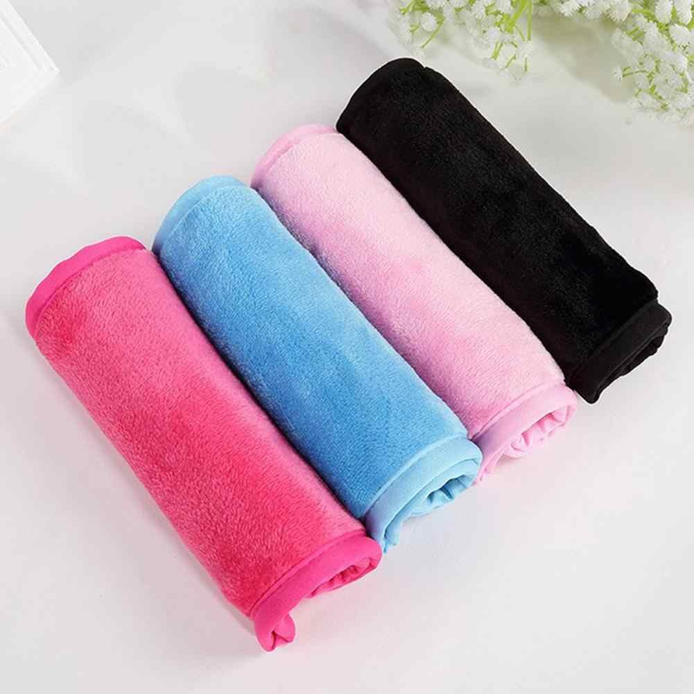 Femmes doux réutilisable visage nettoyage microfibre serviette maquillage enlever tampon tissu visage serviettes outils de beauté serviette de bain produit