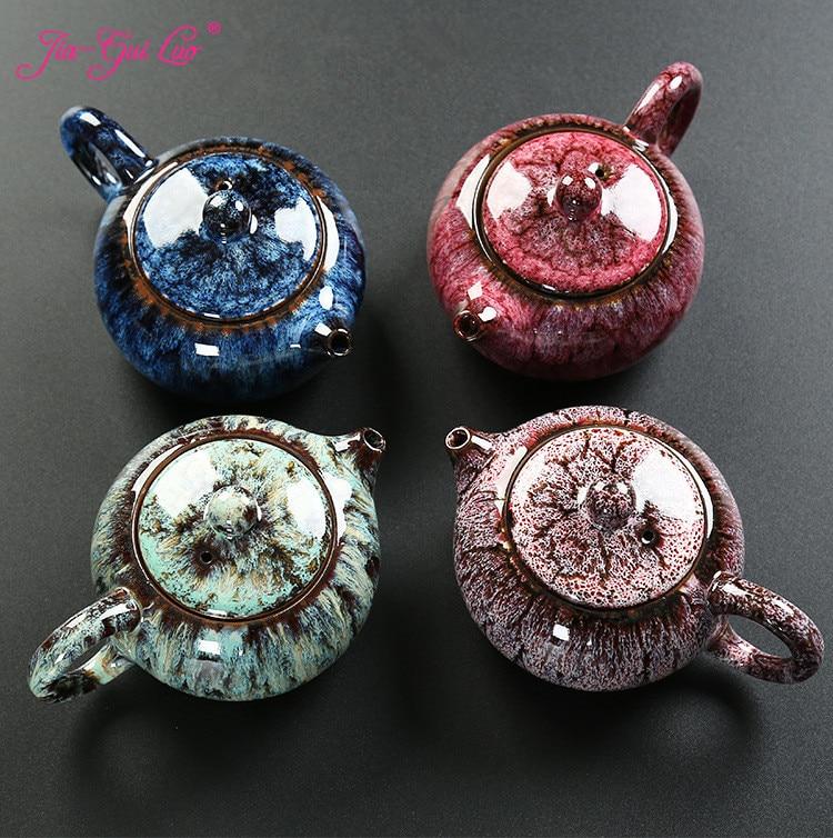 JIA-GUI LUO 200ML Ceramic teapot tea kettle tea set siteel porcelain teapot traditional chinese tea set H042