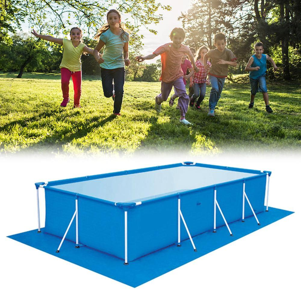 Large Size Swimming Pool Square Ground Cloth Dustproof Floor Cloth Mat Cover For Outdoor Villa Garden Pool Inflatable Pool Cover