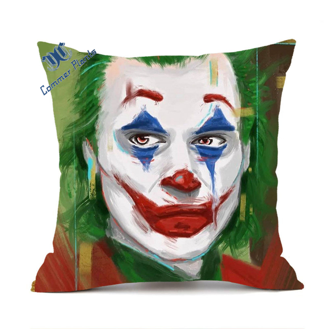 The Joker Cushion Personalise Any Name 20cmx20cm cover only
