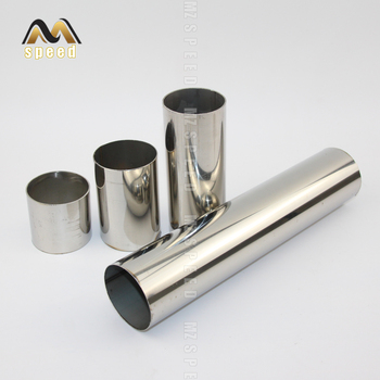 """1 Pcs New10mm-50cm long Universal Adjustable 2"""" 63MM 76MM stainless steel Piping straight kit Turbo Boost Intercooler Pipe"""
