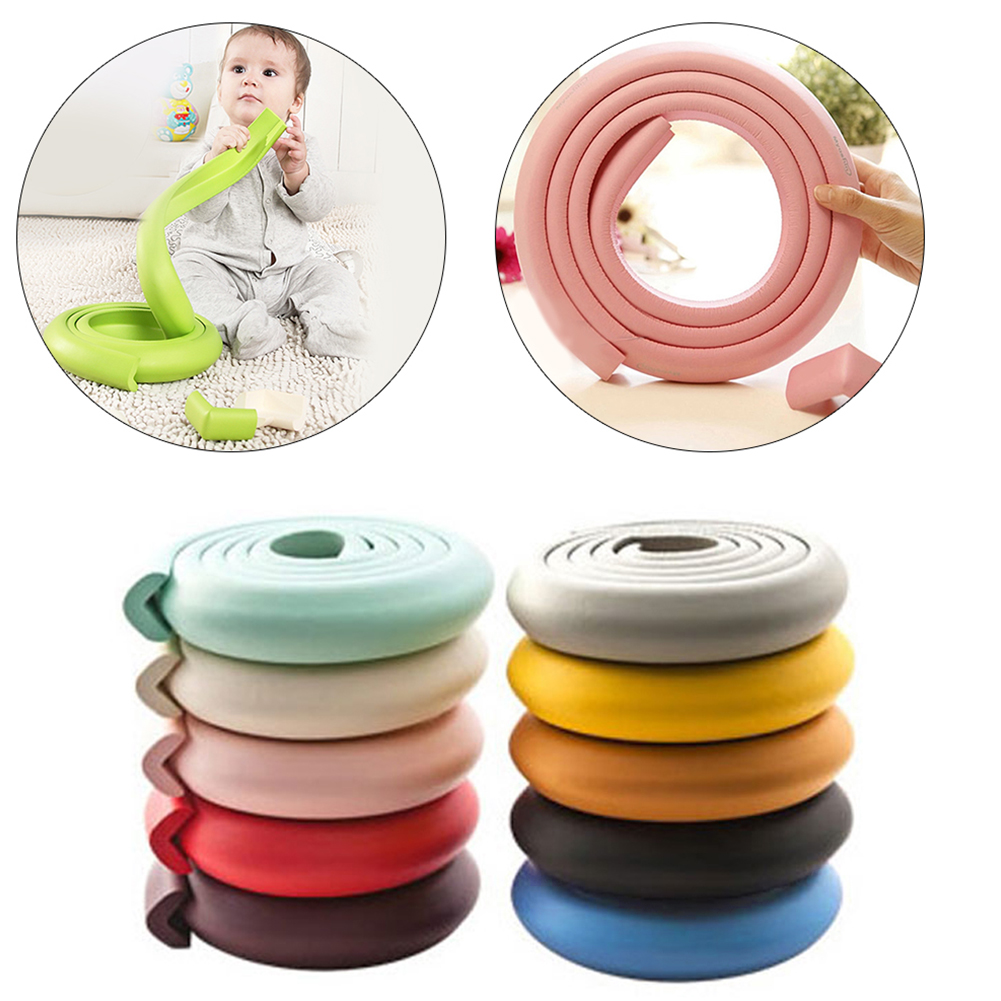 Baby Child Safety Supplies/room 2 Meters Thickening Widened  Children L Shaped Protective Strip Security Door Protective