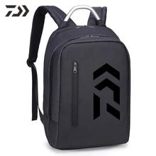 Новинка, сумка для рыбалки Daiwa, мужская сумка на плечо, рюкзак, Повседневный, мужской, простой, многофункциональный, большая емкость, сумка для компьютера, сумки для улицы