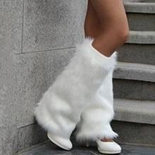 Ног крышка зимние сапоги на искусственном кроличьем меху с осень
