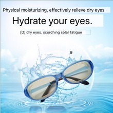 Wet Chamber glasses can add water to make eyes wet /blue light blocking glasses for dry eye/eye fatigue,moisture chamber glasses