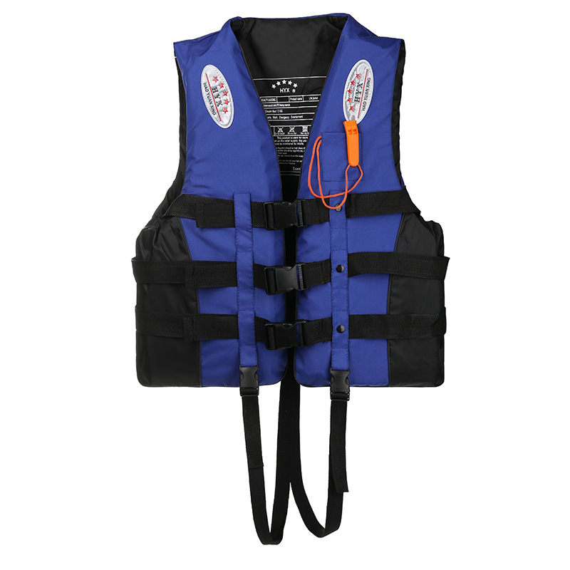 Life Jackets For Adult Plus Size Men Women Kids Swimming Boating Drifting Life Vest With Whistle S-XXXL Size Water Sports Jacket