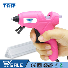 TASP 230V 12(70)W חם להמיס דבק אקדח גבוהה טמפרטורת התכה תיקון כלי ערכת עם 10pcs 7mm דבק מקלות למלאכה פרויקטים