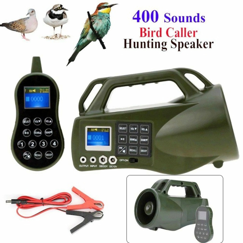 Hunting Bird Caller Remote Control Speaker Player Birds Decoy Bird Caller Hunting CP-550 Hunting Decoy for Hunting Equipment