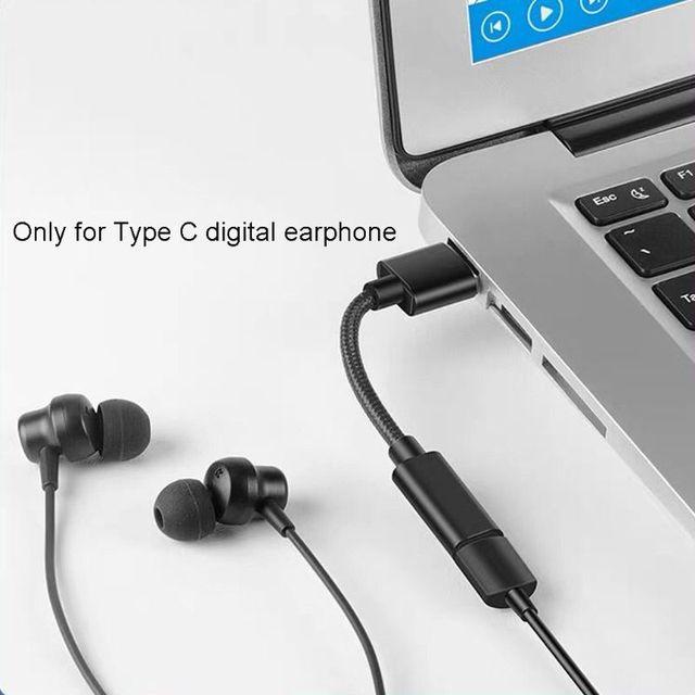 USB 2.0 à Type C câble femelle pour Huawei FreeLace écouteur USB C clé USB