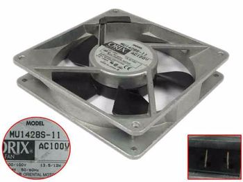 ORIX MU1428S-11 AC 100V 13.5W 140x140x28mm Server Square Fan
