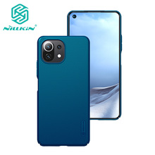 For Xiaomi Mi 11 Lite 5G Case NILLKIN High Quality Super Frosted Shield Case Hard Plastic Back Cover For Xiaomi 11 Lite 4G Case