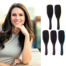 Антистатическая щетка для волос, выпадение волос, дизайн, АБС-пластик, ТПЭ, гальванический Стайлинг, набор для душа, гальванизированная расческа для волос