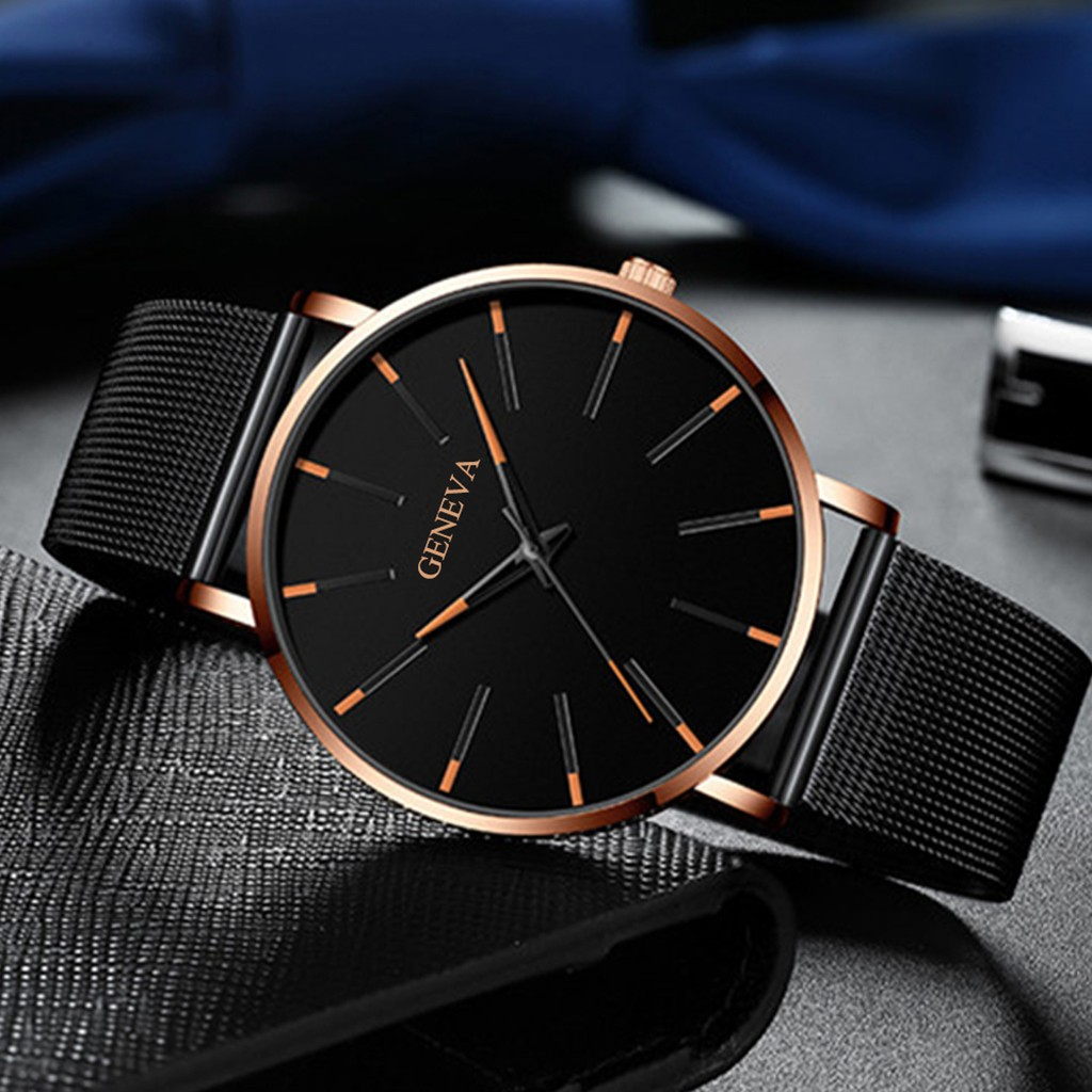 Luxury Band Fashion Watches Geneva Quartz Watch Stainless Steel Casual Bracele Watch Women Gift Watch Relogio Masculino